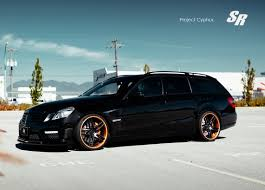 bagged subaru wagon sr auto group brabus mercedes benz e 63 amg wagon