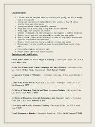 Hotel Security Job Description Resume by Meat Cutter Job Description Resume 11356
