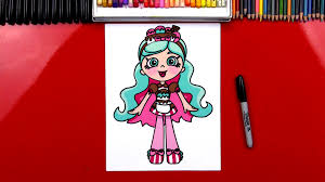 shopkins halloween background how to draw shopkins shoppies peppa mint art for kids hub