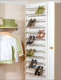 saving small closet spaces with stainless steel and plastic
