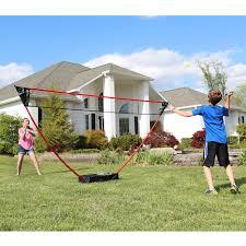 freestanding badminton set
