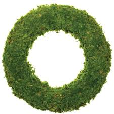 styrofoam wreath gracie oaks moss 17 styrofoam wreath reviews wayfair