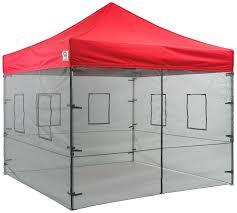 Quik Shade Summit 10x10 Instant Canopy by Amazon Com Impact Canopies 10 U0027 Vendor Food Mesh Walls Sidewall