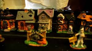 miniature halloween village halloween village 2016 tombstone corners from dollar tree youtube