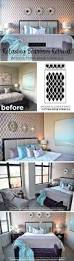 Purple Accent Wall by Create A Relaxing Bedroom Retreat Using Stencils Stencil Stories