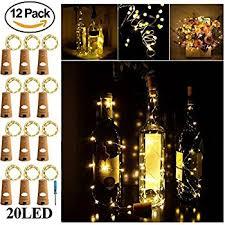 Wine Bottle Light Fixtures Amazon Com Bottle Lights Bestomz 6pcs Wine Bottle Light 40 Inch