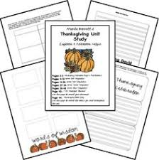 thanksgiving unit study resources unit studies thanksgiving and