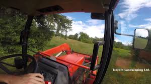 mowing tall fields with a kubota tractor vlog a job 2 youtube