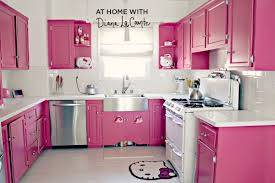 Pink Kitchen Cabinets by Kitchen Captivating Hello Kitty Kitchen Ideas Hello Kitty Kitchen
