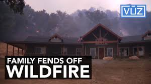 Wildfire Rap Song by Family Holds Off Wall Of Fire Saves Property