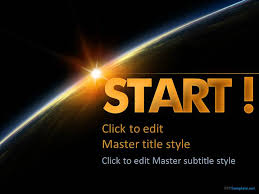 templates powerpoint earth space powerpoint template presentation template planet planets in