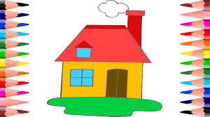 100 coloring house house for kids drawing and coloring