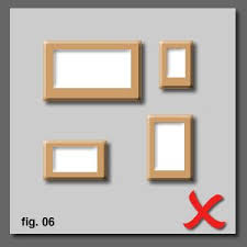 how to hang a picture frame how to hang and align pictures correctly on a wall thinctanc com