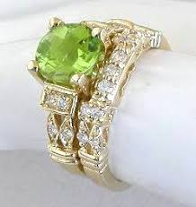 peridot engagement ring peridot engagement rings in 14k yellow gold gr 3055