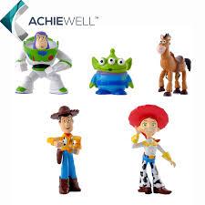 anime toy story 3 buzz lightyear woody jessie action figures