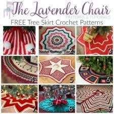 free tree skirt crochet patterns the lavender chair