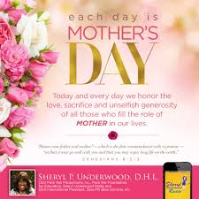 each day is mother u0027s day u2013 sheryl underwood
