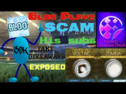 his and items bloo playz scammed his subscriber s items 30k rl youtuber