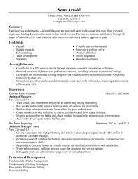 Janitor Resume Examples by Assistant Manager Resume Sample Experience Resumes