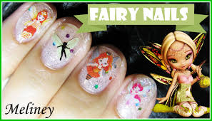 30 creative diy halloween nail art designs that are easy to do easy fairy sticker nail art design for short nails tutorial