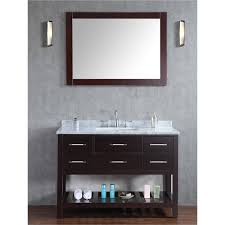 48 In Double Vanity Bathroom Adorable And Charming Bathroom Using 48 Inch Bathroom