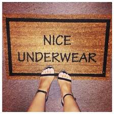 doormat funny home accessory nice underwear funny doormat shoes wheretoget