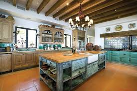 Tuscan Themed Kitchen Amber Performance Of Mexican Contemporary Kitchens Kitchentoday