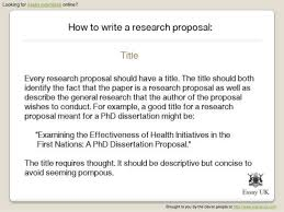 examples of outlines for research papers research paper proposal template