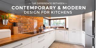 contemporary vs modern the difference between contemporary and modern kitchens cliffside