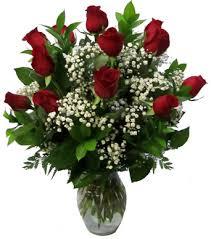 Long Stem Rose Vase Dozen Boxed 60 Cm Long Stem Red Roses Imported