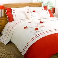 Red And Cream Duvet Cover Bed Cover Designs Descargas Mundiales Com