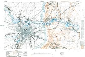Ww1 Map Trench Map Ww1 Arras March 1917 1 10 000 Scale Ordnance Survey