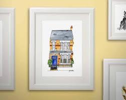 jen russell smith illustration house portraits