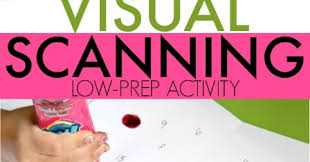 fun and easy visual scanning activity the ot toolbox