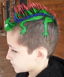 crazy hair ideas for 5 year olds boys top 50 crazy hairstyles ideas for kids family holidays