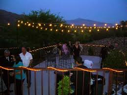Ideas For Patios Enjoy Nighttime Garden With String Of Lights Outdoor U2014 All Home