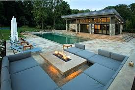 Backyard Stamped Concrete Patio Ideas Patio Ideas With Fire Pit Plain Design Patio Ideas With Fire Pit