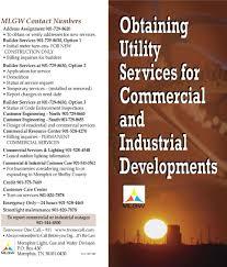 memphis light gas and water customer service mlgw contact numbers memphis light gas and water division p o box