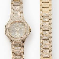 gold bracelet mens watches images Shop bling ed out oblong case metal mens watch w matching bling jpg