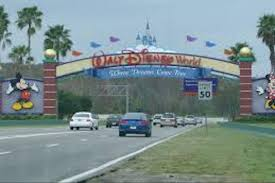 Disney Florida Map by Round Trip Attraction Transportation Walt Disney World Theme Parks