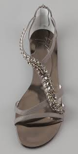 wedding shoes u2013 giuseppe zanotti jeweled flat sandals eawedding