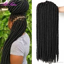 how many packs of hair do you need for crochet braids 2018 18 24 roots pack faux lcos 6 packs dreadlocs braiding hair