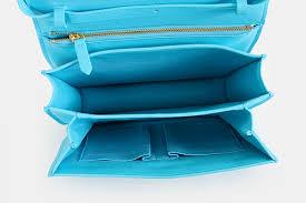 bag with light inside classic box shoulder bag light blue