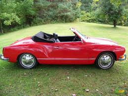 red volkswagen convertible 1973 phoenix red volkswagen karmann ghia convertible 36347505