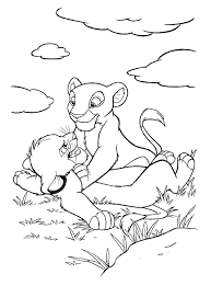 lion king coloring pages games simba flowers coloring