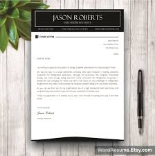 black and white resume template with photo cover letter u2013 u201cjason