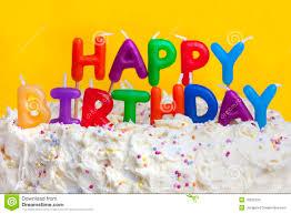 happy birthday cake message stock images image 18532234