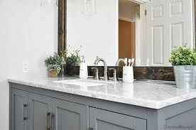 Lying Vanities Definition How To Install A Freestanding Bathroom Vanity Cherished Bliss
