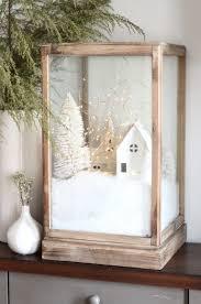 diy christmas village terrarium christmas decor pinterest