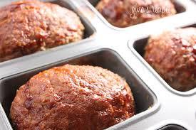 mini meatloaf cooking light petite turkey meatloaves skinnytaste